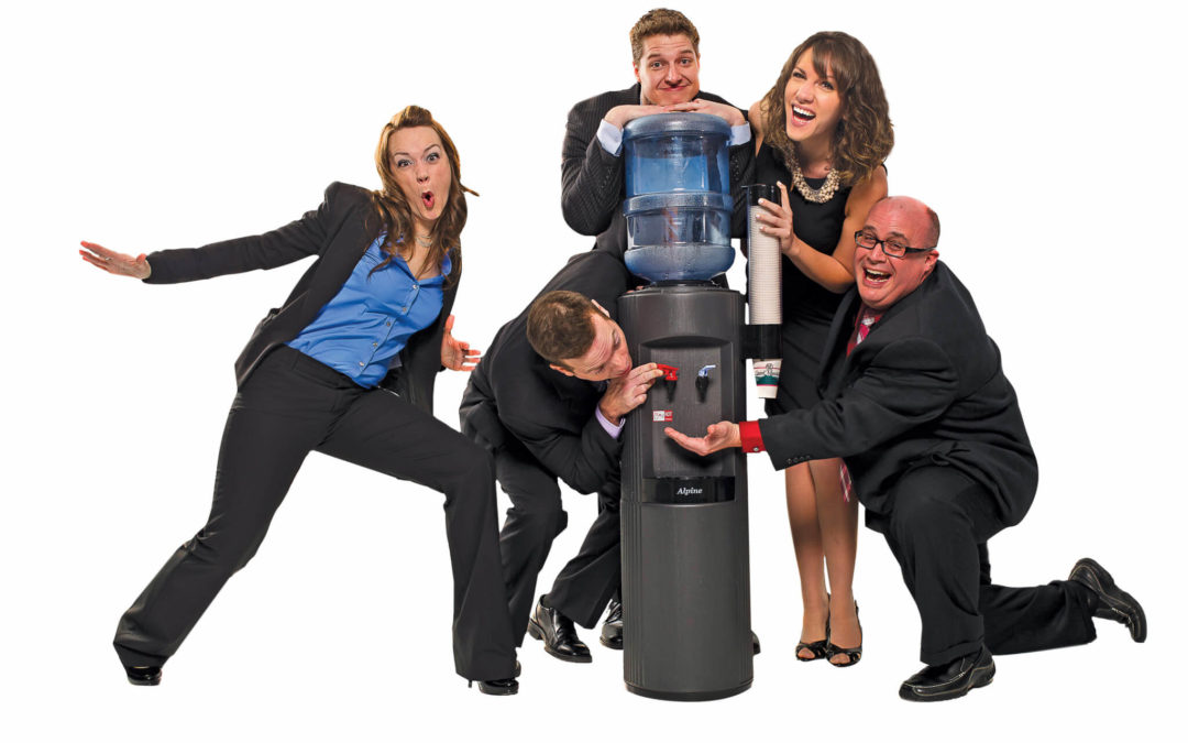 Image result for image of water cooler talk