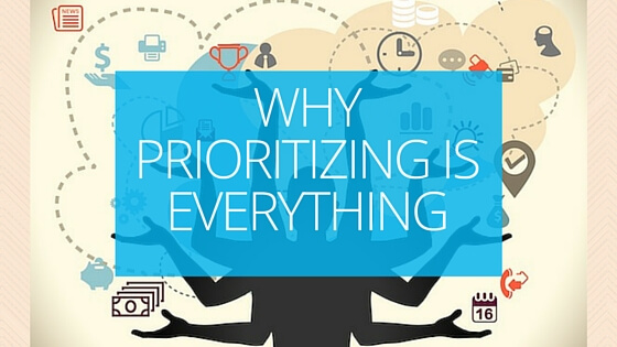 Why prioritising is everything