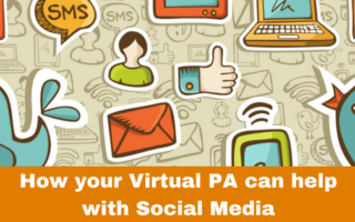 How your virtual PA can help with social media