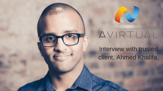 Ahmed Khalifa talks to us about his experience at AVirtual