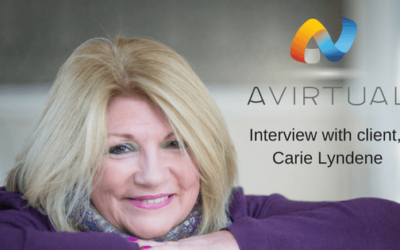 Carie Lyndene talks to us about her experience at AVirtual