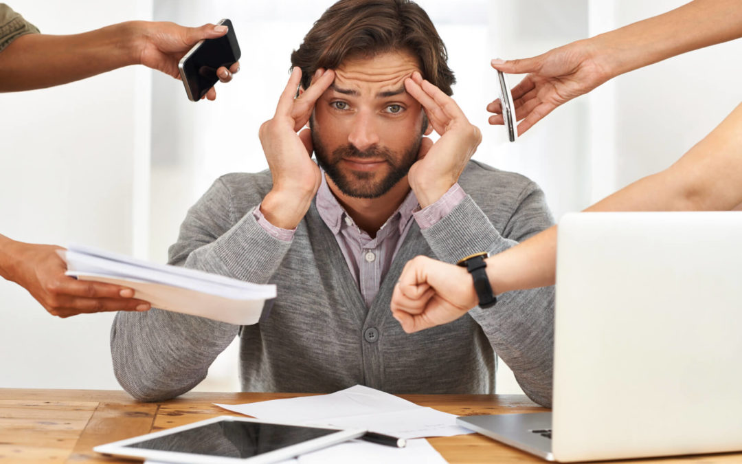 Work-related stress and 7 ways to reduce it.