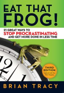 """""""Eat that frog!"""" book cover"""