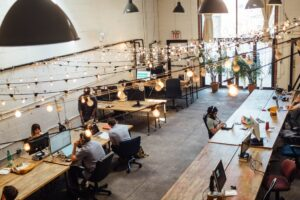 Co-working space to use as team building for remote employees